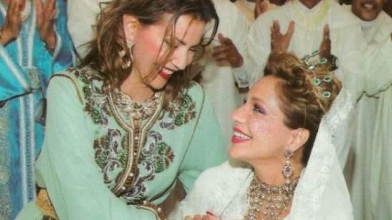 الأميرة لالة سكينة تحتفل بعيد ميلادها ال 35