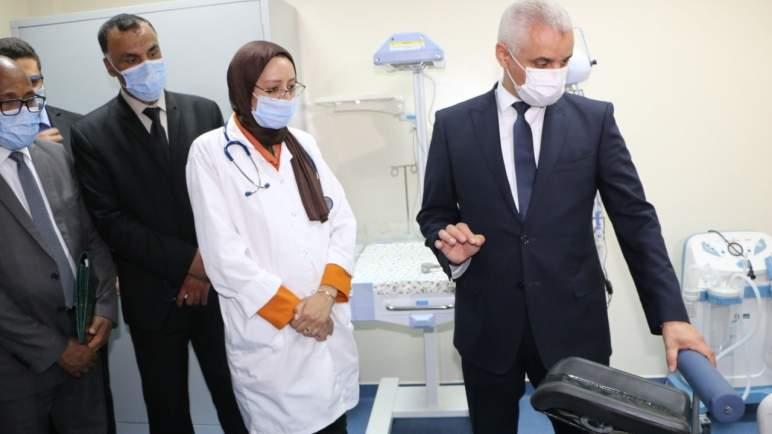 زيارة مفاجئة لآيت الطالب بعد تدهور الحالة الوبائية بمراكش