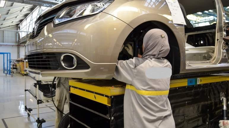 ارتفاع صادرات ومبيعات قطاع السيارات بالمغرب