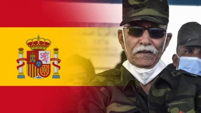 زعيم «البوليساريو» الانفصالية يغادر إسبانيا