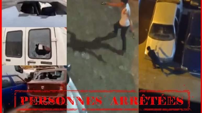 فيديو يفضح متورطين مفترضين في تخريب سيارات بالبيضاء