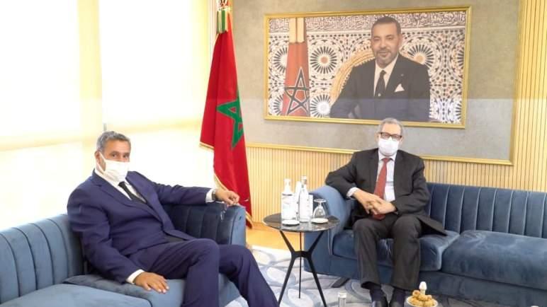 مشاورات أخنوش لتشكيل حكومة جديدة متواصلة. في 4 لقاءاته اليوم يستقبل لعنصر