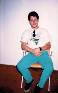 Me, in the late eighties, a degenerate, but then still functioning  meth head.