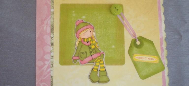 Christmas card for teenage girl