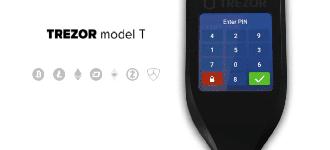 TREZOR Model T : la sécurité de vos crypto-monnaies avec écran tactile