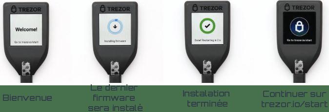 Trezor model t instalation du firmware