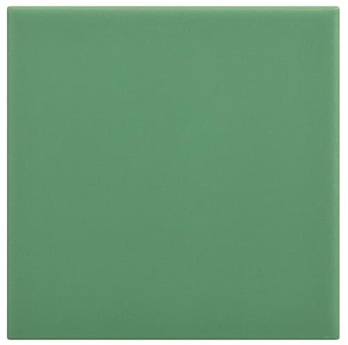 carrelage sol 10 x 10 lisse mat couleur vert