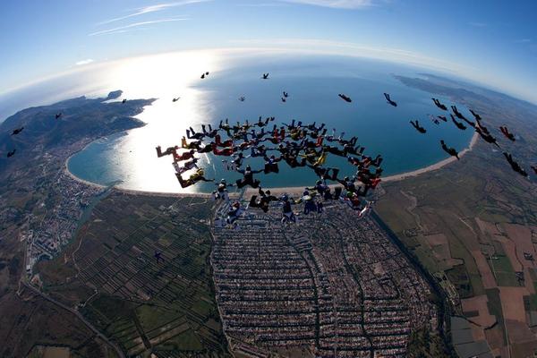Empuriabrava parachutisme acheter en Espagne Immobilier