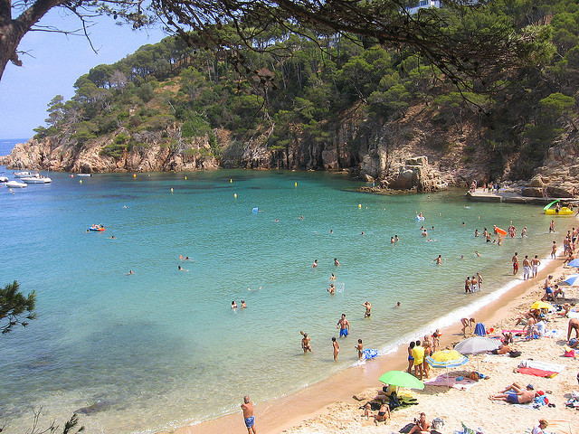 Cala del Senyor Ramon - Tossa de Mar - plages Catalogne acheter immobilier Espagne