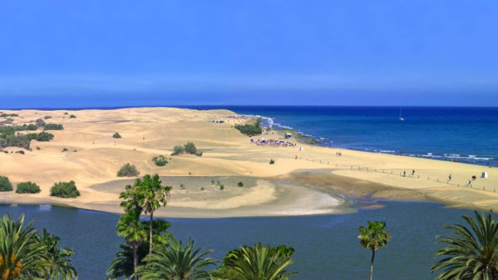 Playa Maspalomas - Gran Canaria – Îles Canaries plages acheter immobilier Espagne