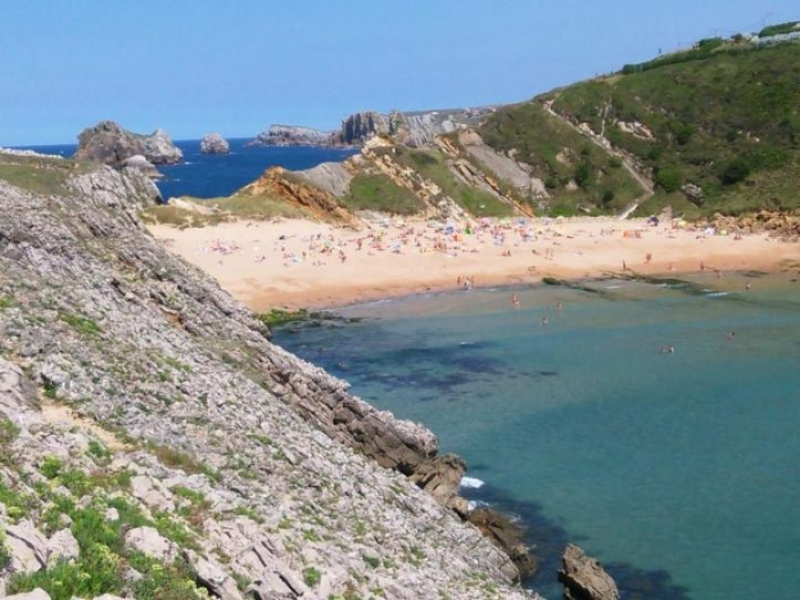 Playa Somocuevas - Liencres – Cantabrie plages acheter immobilier Espagne