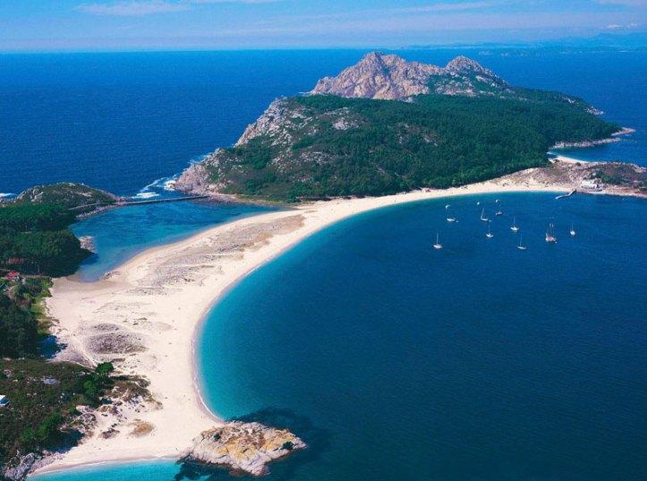 Playas das Islas Cíes - Galice plages acheter immobilier Espagne