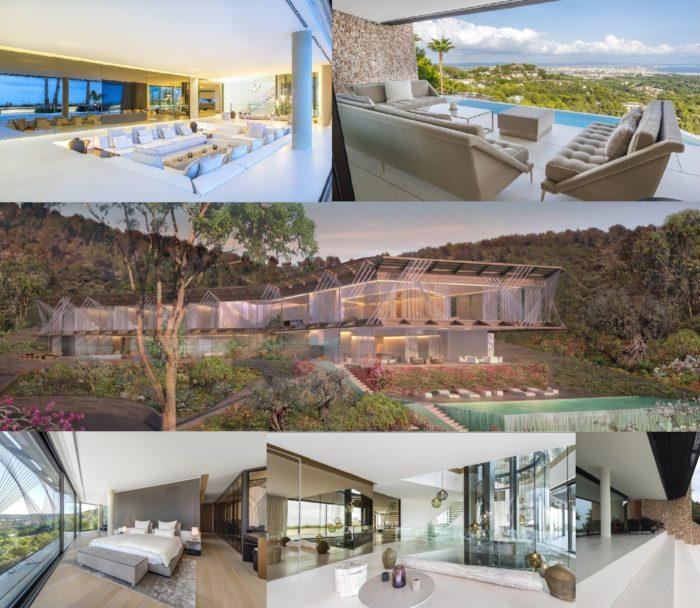 Villa solitaire palma acheter immobilier en Espagne ensemble Villas