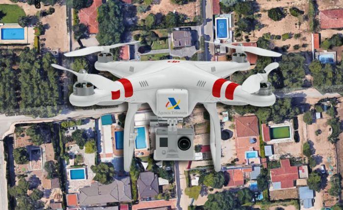 Régulariser des travaux non déclarés acheter en espagne avec drones hacienda
