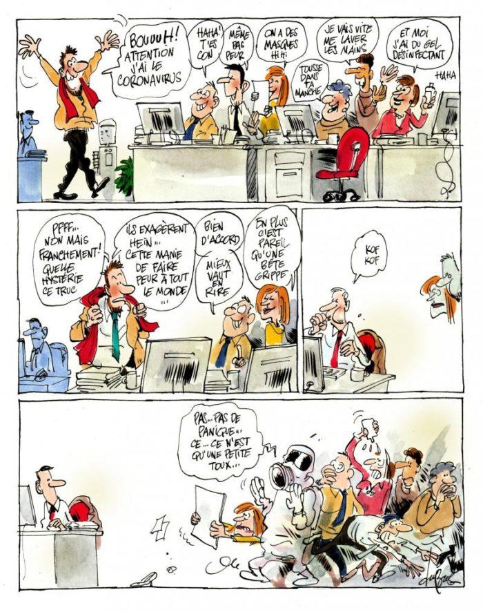Coronavirus Covid dessins blagues rire sourire acheter immobilier espagne 13