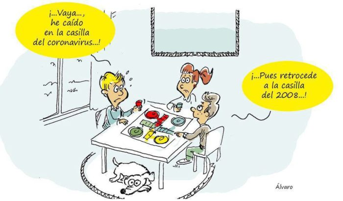 Coronavirus Covid dessins blagues rire sourire acheter immobilier espagne 22