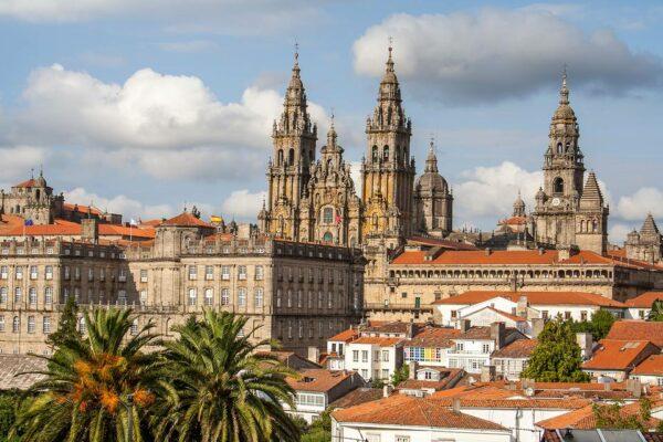 Casco antiguo de Santiago de Compostela Galicia acheter en espagne