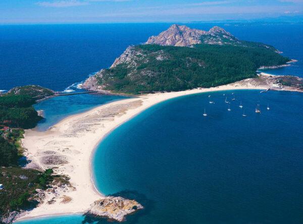 Playas-das-Islas-Cíes-Galice-acheter-immobilier-Espagne