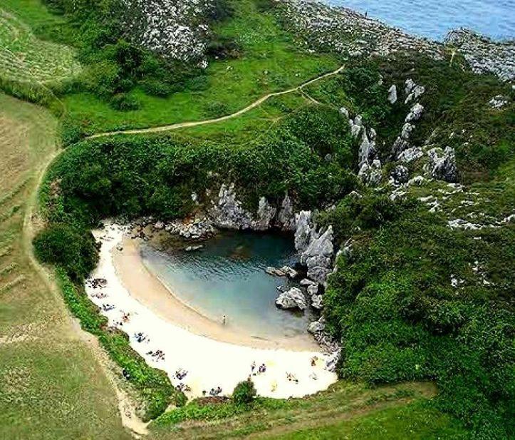 Playa de Gulpiyuri Asturies plages acheter immobiliere en Espagne
