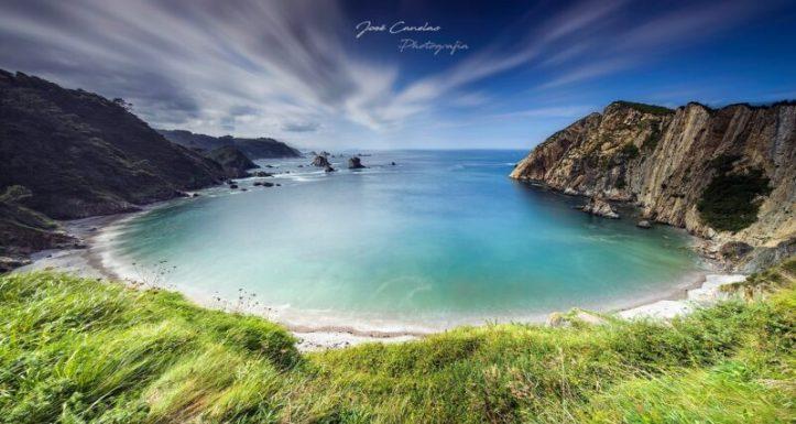 Playa do Silencio Asturies plages acheter immobiliere en Espagne