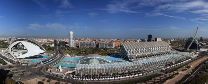 Ciudad de las Artes y Ciencia Valence architecture acheter immobilier en Espagne 1