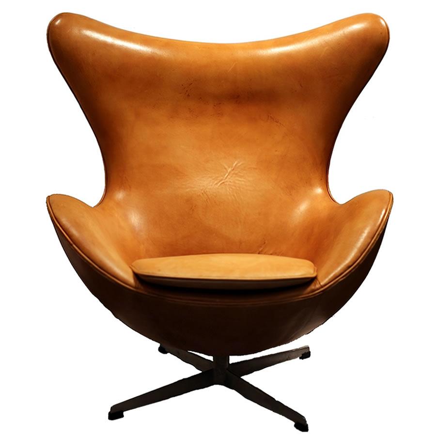 Le fauteuil Egg dArne Jacobsen chefdoeuvre du design