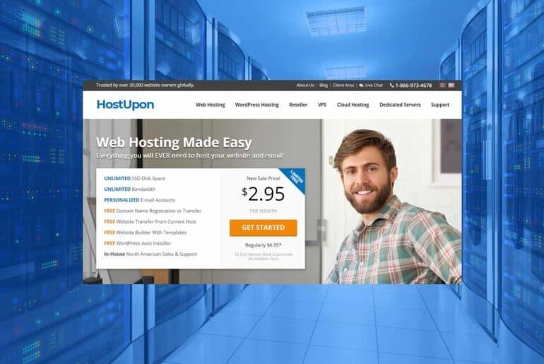 Service d'hébergement Web - Publicité en ligne