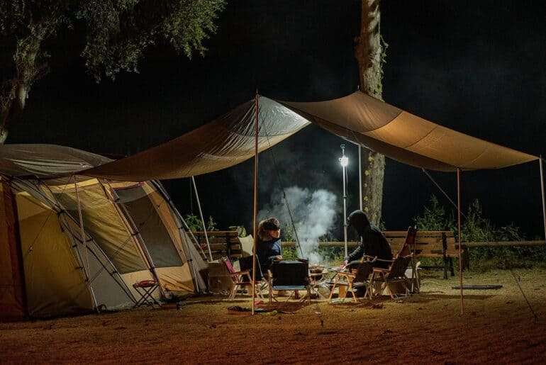 Camping - Site de camp