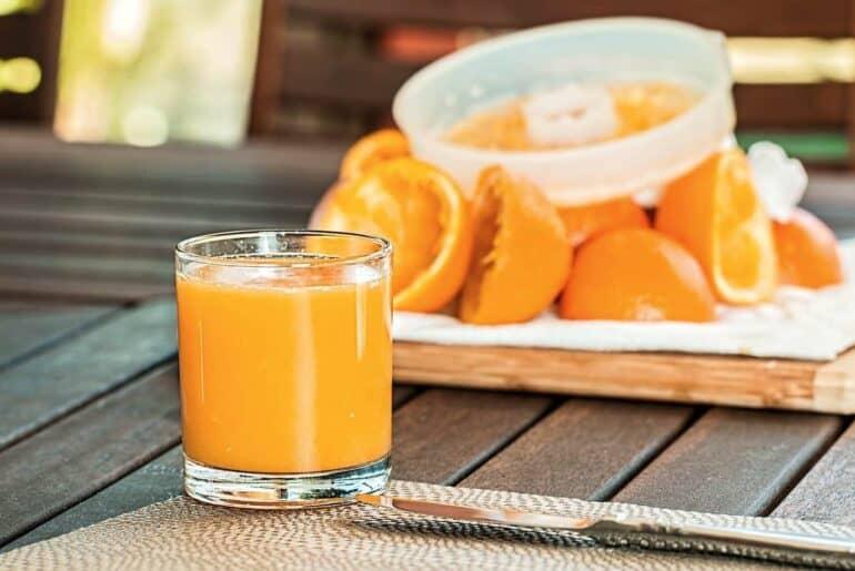 Jus - Du jus d'orange
