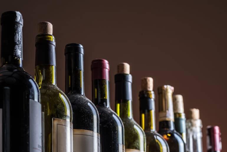 Vin - Bouteille en verre