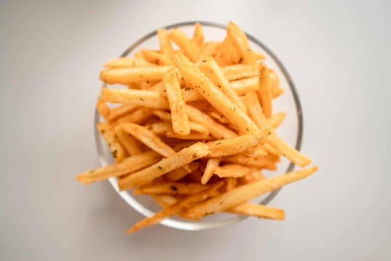 frites - Burger