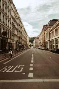 rue vide confinement