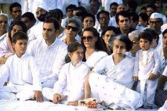 Rajiv Gandhi Biography In Hindi, Rajiv Gandhi Family