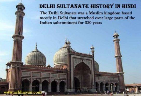 दिल्ली सल्तनत का इतिहास और तथ्य | Delhi Sultanate History In Hindi