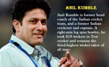 अनिल कुंबले की जीवनी | About Anil Kumble Biography in Hindi