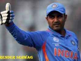 वीरेंद्र सहवाग की जीवनी | About Virender Sehwag Biography in Hindi