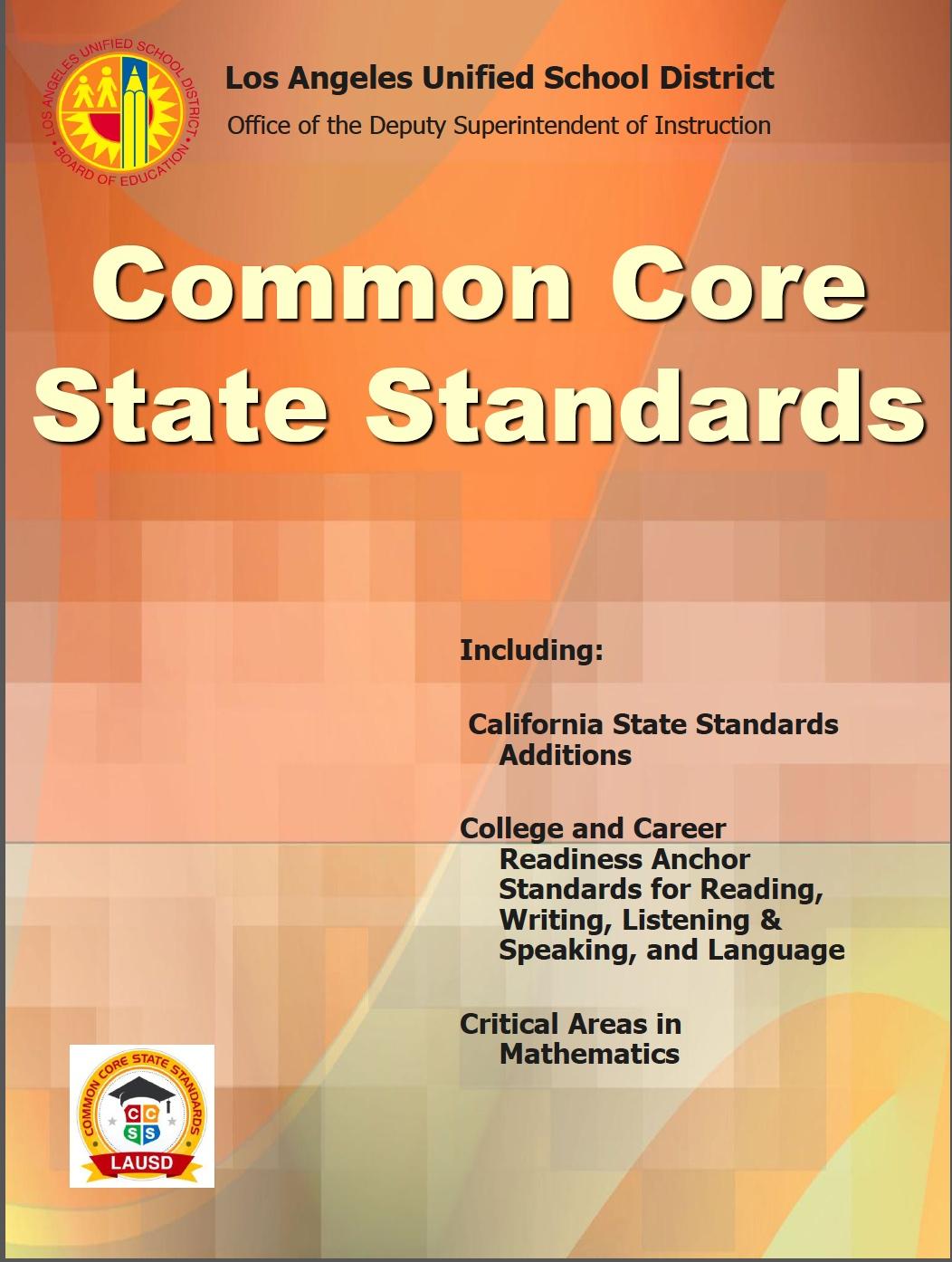 California State Standards 8th Grade Science Portjesi