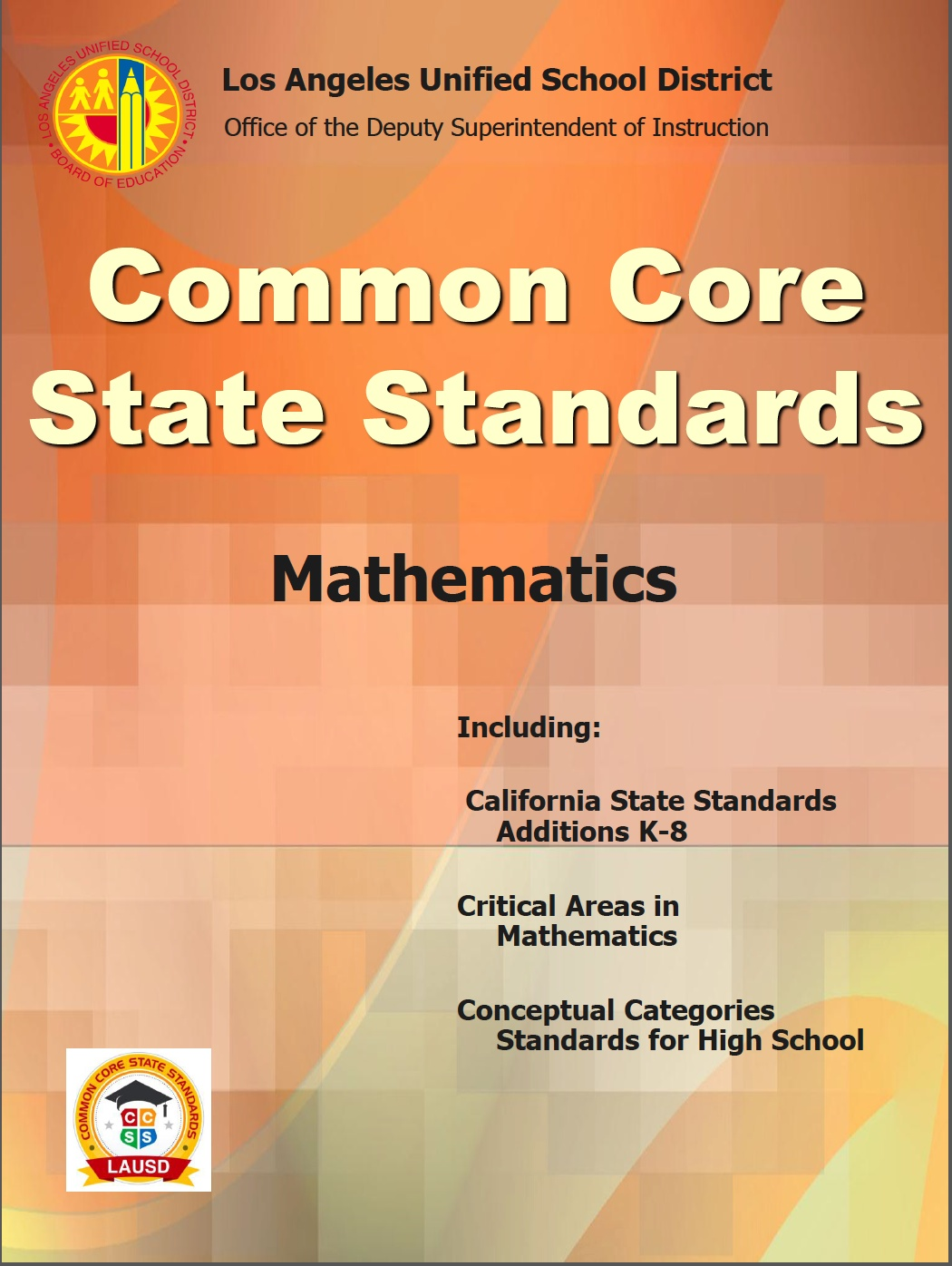California State Standards 4th Grade Math