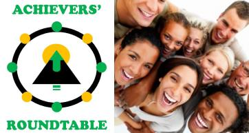 Achievers Roundtable Logo with PIC BT