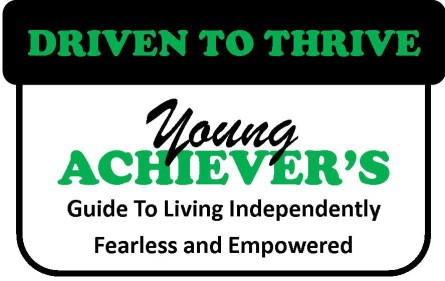 DRIVEN TO THRIVE Initial Book Logo