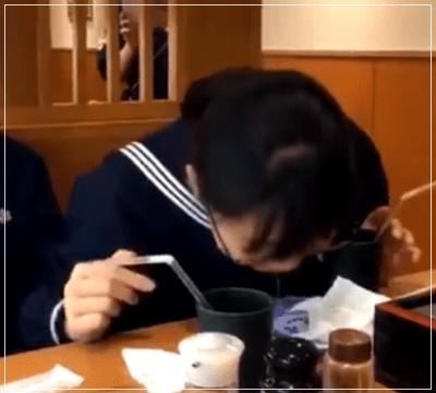 十文字学園 十文字中学校 くら寿司 飲んで吐き出す 炎上 動画