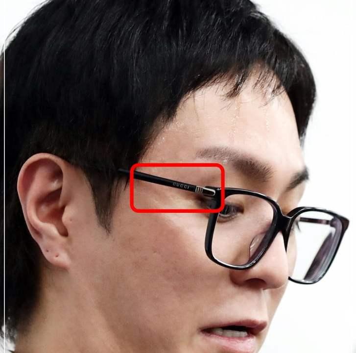 浦田直也 メガネ ブランド GUCCI どこ 眼鏡