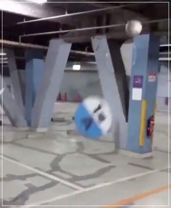 駐車場 サッカーボール 破壊 場所 どこ 犯人 名前 清中