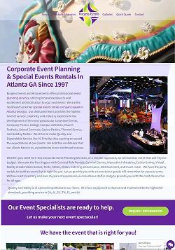 Amusement Park Rentals for Special Events Atlanta