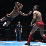 NJPW G1 CLIMAX 27 愛媛・アイテムえひめ大会 ザックをねじ伏せて内藤10点到達。でも焦ったでしょ?
