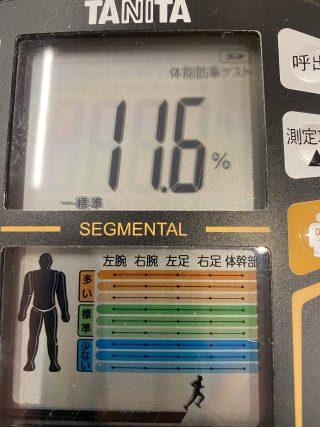 【体脂肪至上主義】体重:63.0kg  体脂肪:15.3%
