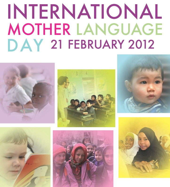 Poster of the International Mother Language Day