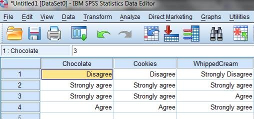 How to summarise Likert scale data using SPSS (1/3)