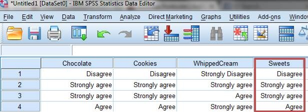How to summarise Likert scale data using SPSS (3/3)