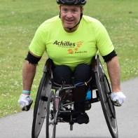 Headshot of Matt Davis in a racing chair